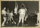 Youth Basketball Association game, YMCA, Fargo, N.D.
