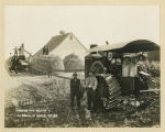 Threshing with gasoline by A. L. Torblaa of Grafton Twp., N.D.