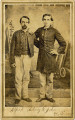Alfred Adney and John Williams dressed in uniforms