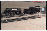 Minnetonka locomotive in Fargo, N.D. for Herbst Department Store's 75th Anniversary