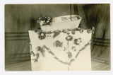 Durward Potter lying in open casket