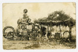 Flowers at Governor Winfield Scott Hammond's grave, Mount Hope Cemetery, Saint James, Minnesota