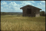 Stone building at Fort Clark Historic Site, N.D.