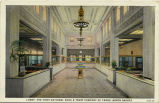 Lobby, the First National Bank and Trust Company of Fargo, North Dakota