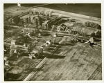 Aerial over Mayville State University, Mayville, N.D.
