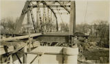 Construction of the 1st Avenue N. Red River bridge, Moorhead, Minn. and Fargo, N.D.