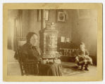 Sally Maria McKinstry and child