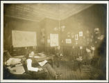 Hamilton Gearey in his office at Merchants State Bank, Fargo, N.D.