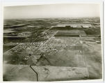 Aerial view looking north over West Fargo, N.D.
