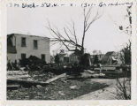 Tornado damage in the 1300 block, 5th Street N., Fargo, N.D. 1957