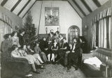 Phi Omega Pi Sorority House Christmas party 1925