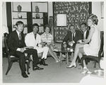 Milton and Pat Young with Bruce Lee and others, South Korean Embassy