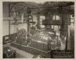 Turbine and generator room, Fargo Steam Plant, Fargo, N.D.