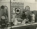 Honeymoon window display, Herbst Department Store, Fargo, N.D.