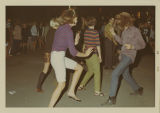 Dancing teenagers at Battle of the Bands concert, Herbst Department Store, Fargo, N.D.