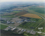 Aerial of Red River Valley Farigrounds, Sep. 1, 1997