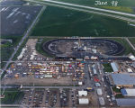 Aerial over Red River Valley Fairgrounds durring Steve Miller Band Concert, West Fargo, N.D.
