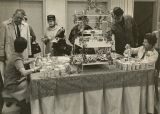 Coffee servers at 75th Anniversary of Herbst Department Store, Fargo, N.D.