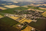 Aerial view of Northwood, N.D. population 1,194